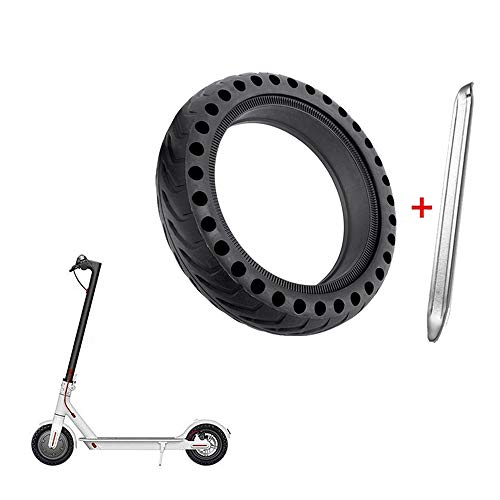 ASTVSHOP Solid Tire Wheel's Replacemen Accessories for Electric Scooter Xiaomi Mi m365 / gotrax gxl V2, 8.5 inches Scooter Explosion-Proof Solid Tire for Xiaomi Mijia M365 (Black, 8.5 inches)