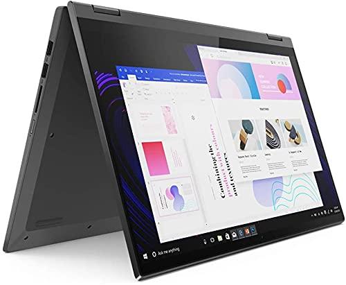 "2021 Newest Lenovo Flex 5 15.6"" FHD 2-in-1 Touchscreen Laptop | 8-core AMD Ryzen 7 5700U(Beat i7-10750H) | Fingerprint | Type-C | Backlit Keyboard | w/ Accessories (16GB RAM | 512GB PCIe SSD)"