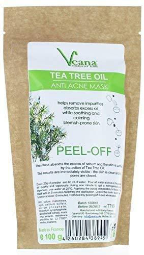 Anti de acné de árbol de té Peel Off Máscara