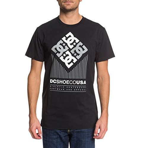 DC Shoes Hexo-T-Shirt pour Homme, Black, FR (Taille Fabricant : XS)