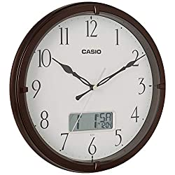 Casio Ic-01-5 Wall Clock with Day and Date Analog Digital Display