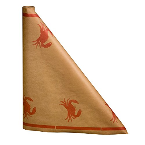 N. F. String & Son, Inc. Crab Print Paper Table Cover 300Ft.