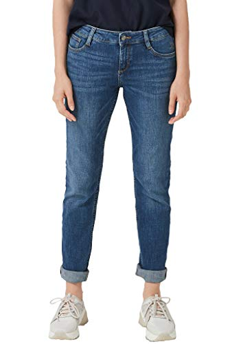 s.Oliver Damen 04.899.71.5391 Slim Jeans, Blau (Blue Denim Stretch 57z7), 36/L30