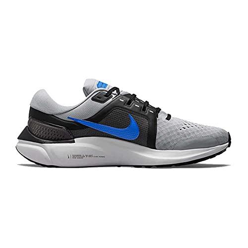 Nike Air Zoom Vomero 16, Zapatillas para Correr Hombre, Wolf Grey Hyper Royal Black Dk Grey, 43 EU