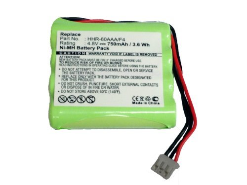 MPF Products HHR-60AAA/F4, 2422-526-00148, 310420051271, 8100-911-02101 Battery Replacement Compatible with Select Philips Pronto Remote Controls (Compatible Models Listed in Description Below)