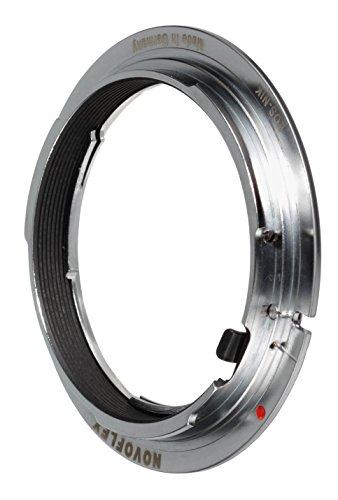 Novoflex adapter FD lenzen op Leica M Body, Canon EF, behuizing, zwart, Nikon Lens