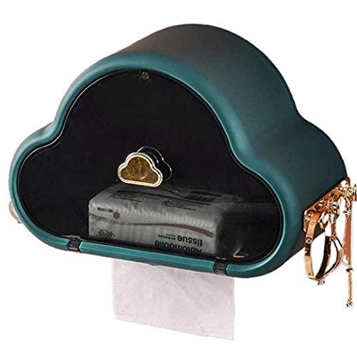 Ruluti Parete Carta Igienica Tissue Holder Storage Box Dispenser Bagno Privato Servizi Igienici con Gancio