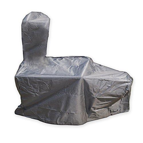 DRULINE Abdeckplane für Smoker 130kg Vertikal Abdeckung Abdeckhaube Wetterschutz Grill Schutz