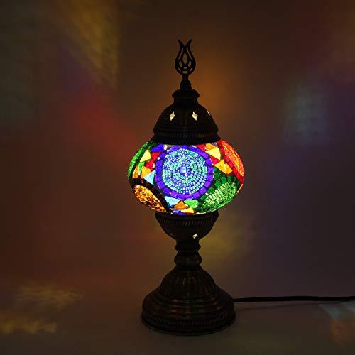 Su Damlası- Turco Morroccan Lámpara de mesa, lámpara de escritorio, lámpara de noche, lámpara de Tifanny, lámpara de mosaico, lámpara de mesa de mosaico