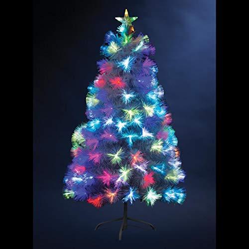 Albero di Natale in fibra ottica Bouquet Alt. 90 cm