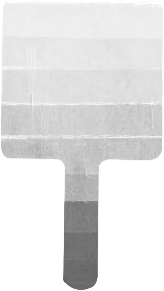 Brushstroke Ombre Grey Charcoal Minimal Mirror Square 5 ☆ very popular Cheap sale Hand Makeu