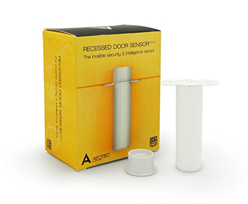 Aeotec Recessed Door Sensor Gen5, Invisible Z-Wave Plus security and...