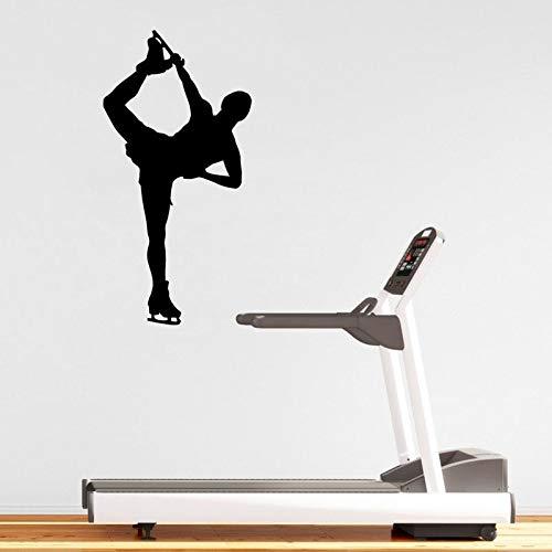 yaonuli Gymnasium Sport Muursticker Vinyl Aerobic mannen Skating Muurtattoo Decoratie Muurschildering