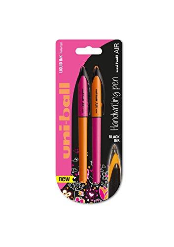 Uni-Ball 153544496 Penna Roller Inchiostro Liquido, 2 Pezzi