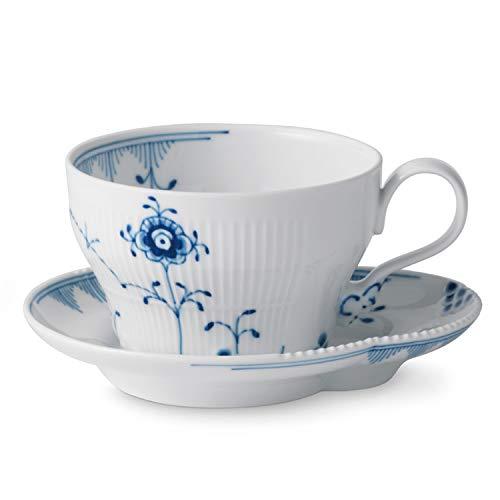 Royal Copenhagen Blue Elements Tea Cup & Saucer
