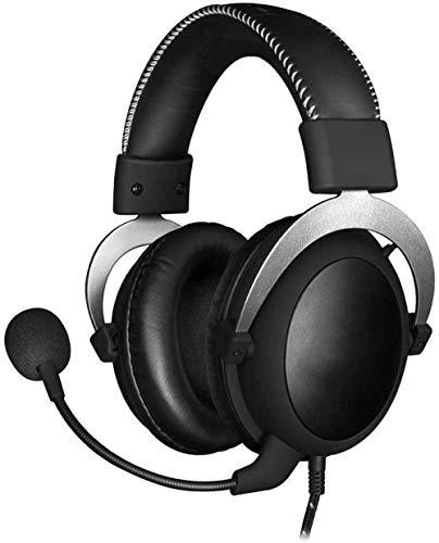 YAYY gaming-headset - 53-mm driver comfortabele 3 5-mm professionele over-ear gaming hoofdtelefoon met afneembare microfoon voor ruisonderdrukking (upgrade)
