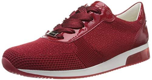 ara Damen LISSABON Sneaker, Rot-Metallic, Rosso 07), 39 EU (6 UK)