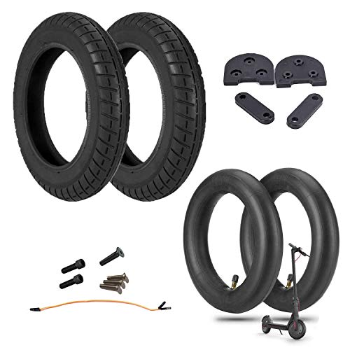 """Kit Neumáticos reforzados de 10"""" pulgadas con cámaras de aire y espaciador 3D para Scooter Xiaomi M365/PRO (KIT WANDA)"""