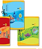 Navneet Youva   Hard Bound   Zoology Laboratory Book   21x28.5 cm   Unruled   58 Pages   Pack of 3