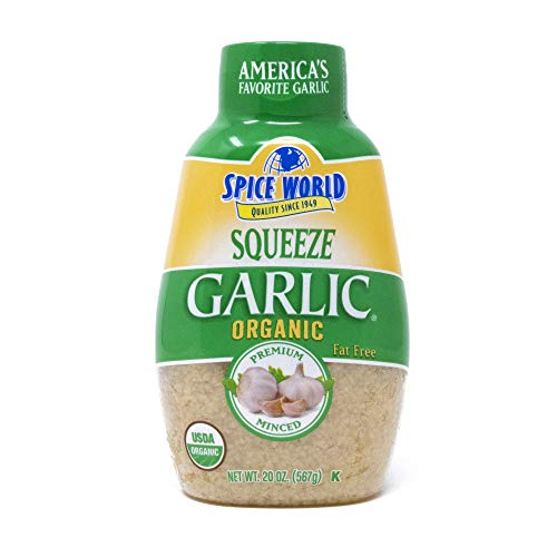 Spice World - Organic Squeeze Garlic - Value Size - 20 oz