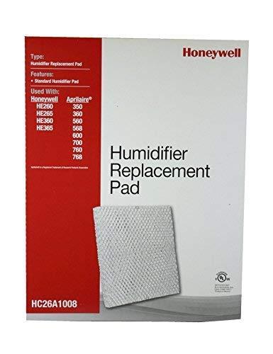 Honeywell HC26A1008/U Pad for He200, He250, He260, He265, He300, He360 and He365 Humidifiers