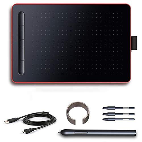 Docooler Tabletas de Dibujo gráfico,USB Tabletas Digitales,Tablero Digital Conectar teléfonos para Trazar Dibujos, Dibujo, Animación