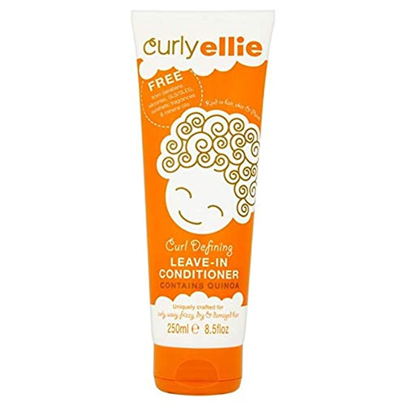 スカートシュート直接[CurlyEllie] カーリーエリーカールリーブインコンディショナー250Mlを定義します - Curly Ellie Curl Defining Leave-In Conditioner 250ml [並行輸入品]