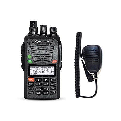 WOUXUN KG-UV6D 4m/2m 66-88/136-174MHz Tragbares BOS Tonruf-I Amateurfunk Dualband PMR-Handfunkgerät Mit Remote Speaker Mikrophon