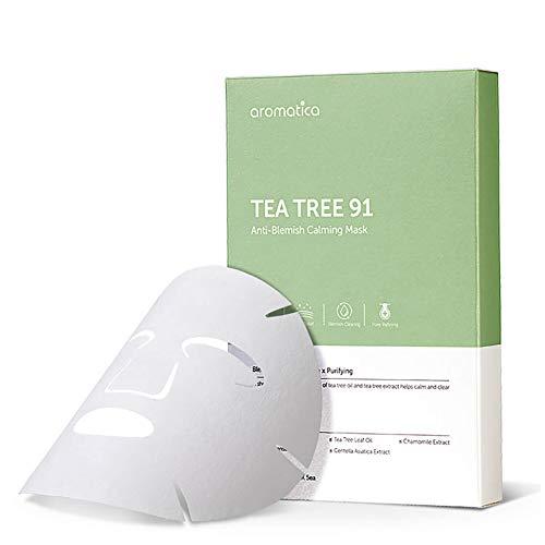 AROMATICA Tea Tree 91 Anti-Blemish Kalmerend Masker (5 stuks) 15g