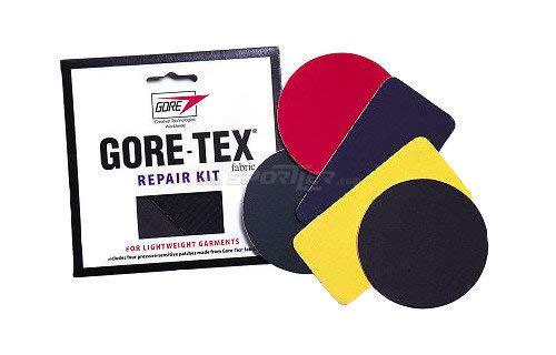 McNett Gore Tex - Parches reparadores de Tejido Gore-Tex, Negro