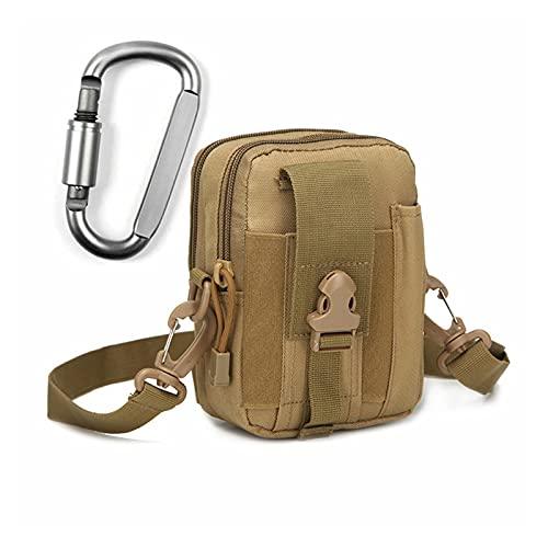 Cangurera 1 unids bolsa táctica bolsa de caza cinturón bolsa de cintura bolsa militar bolsas al aire libre caja del teléfono bolsillo de bolsillo bolsas de camping Riñonera deportiva o cangurera