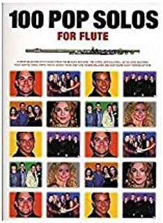 100 Pop Solos For Flute. Partituras para Flauta(Símbolos de