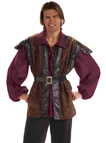 Forum Medieval Mercenary Deluxe Costume, Multi Color, Standard