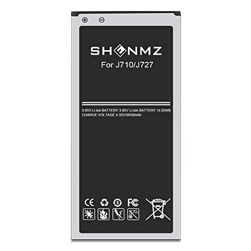 [3650mAh] Galaxy J7 Battery, Battery Replacement for Samsung Galaxy J7 (2017 Ver) J7 Perx, J7 Sky Pro, J710, J727, J7 Prime, EB-BJ710 [3 Years Warr]