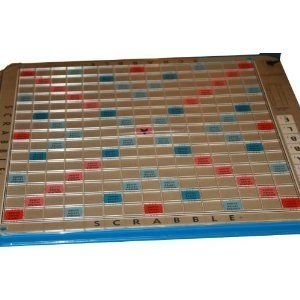 Scrabble Deluxe Edition 1966 with Turntable and Scoring Tile Racks [RARE]