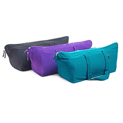 Yogamatters Carry All Kit Yoga Bag (Black)