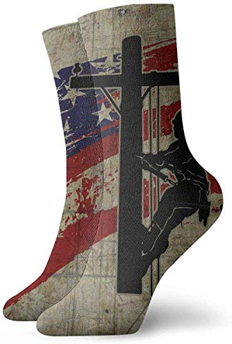 Elsaone Ich liebe meine Lineman Unisex Casual Socken lustige Crew Socken rutschfeste verrückte Socken Boot Socken 30cm