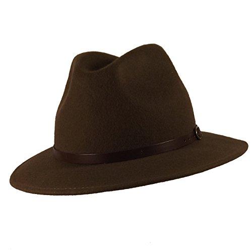 Chapeau-tendance - Chapeau Borsalino Marron Costa - 55 - Homme
