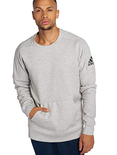 adidas Id Stadium Sweat-Shirt Homme, Stadht/Noir, FR : L (Taille Fabricant : L)