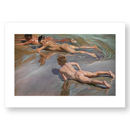 """""""Chicos en la playa"""", impresión oficial del Museo del Prado"""