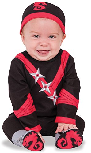 Rubie's Ninja Baby Costume, As Shown, Infant
