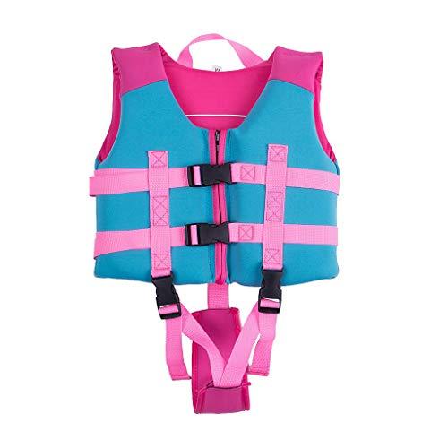 Sundwsports Kids Life Jacket, Boys Girls Swim Float Vest Swimming Aid for Children Swim Training Floation Device L