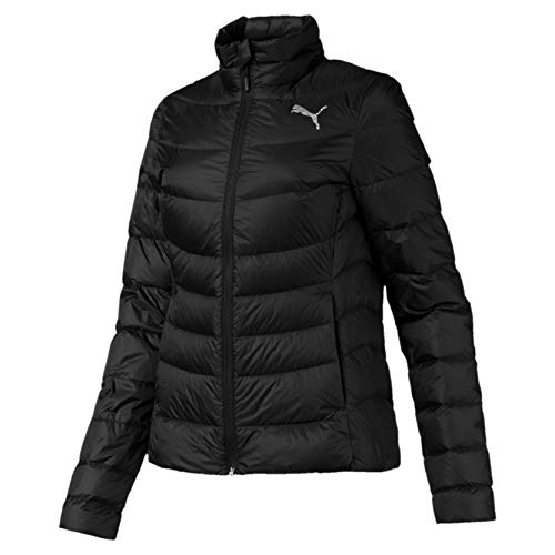 PUMA Damen PWRWarm packLITE 600 Down Jacket Daunenjacke, Black, S