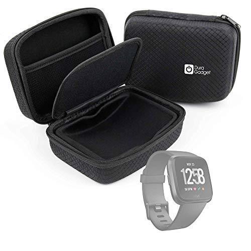 DURAGADGET Custodia Rigida per smartwatch Sepver SN05 smartwatch   Xiaomi Amazfit Bip   Fitbit Versa   Garmin tactix Charlie/Approach S10 / Descent MK1 / Forerunner 645 Music - con Tasca Interna