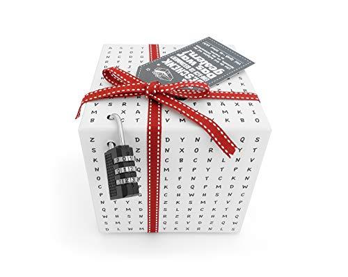 SURPRISA Worträtselbox – die kreative Geschenk-Verpackung für alle Knobelfreunde – perfekt für Gutscheine oder Geldgeschenke - für die Freundin, zur Hochzeit oder zum Geburtstag