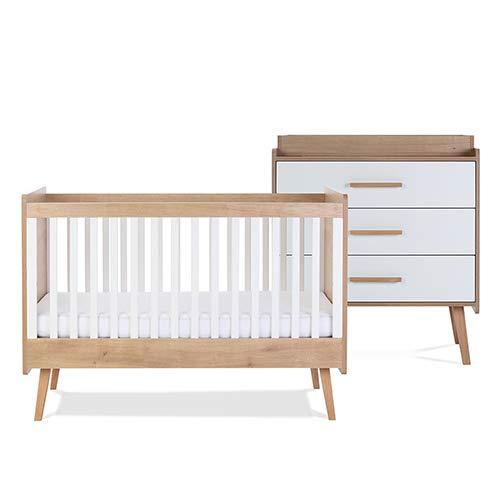 Silver Cross Westport Cot Bed + Westport Dresser Bundle