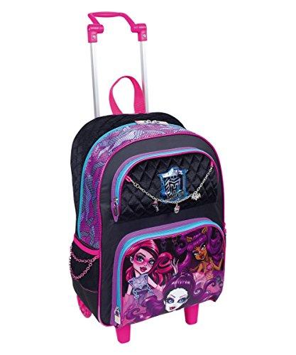 Mochila de Rodinhas Monster High Grande 16Y01 - 64021-00