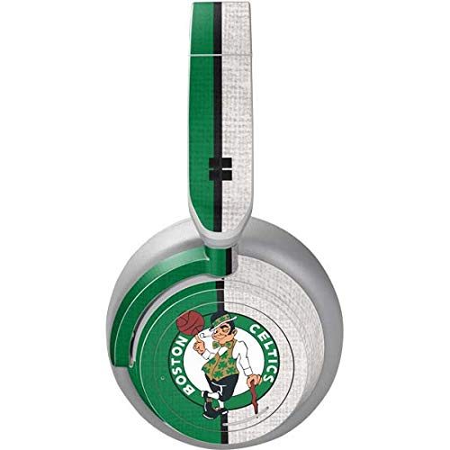 Skinit Decal Audio Skin Compatible with Surface Headphones - Officially Licensed NBA Boston Celtics Canvas Design