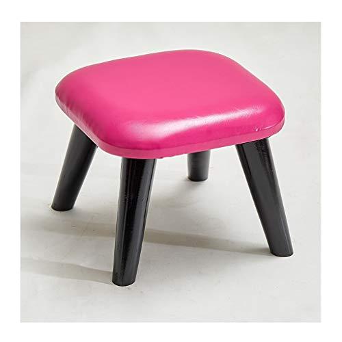 bureaustoel lage krukken massief hout woonkamer slaapkamer krukken voetbank gestoffeerde voetsteun verandering schoenen krukken stoel B