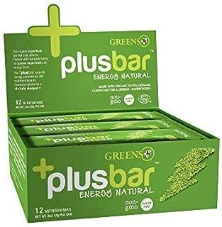 Greens+ Plusbar Natural Energy Dates & Almond bars